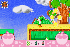 Yoshi - Topsy-Turvy - Level  -  - User Screenshot