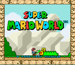 Super Mario World - Introduction  - How Can He Eat Him - User Screenshot