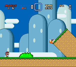 Super Mario World - Level Level 1 - Level 1 - User Screenshot
