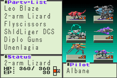 Zoids Legacy - oops!!! 2-arm Lizard - User Screenshot