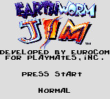 Earthworm Jim - Introduction  - Title screen - User Screenshot