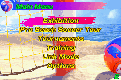 Pro Beach Soccer -  - User Screenshot