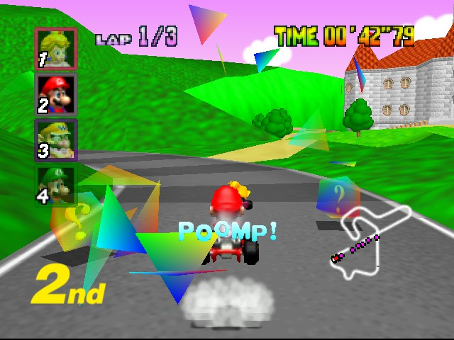 Mario Kart 64 - Misc  - Oh boy, I wonder what item I