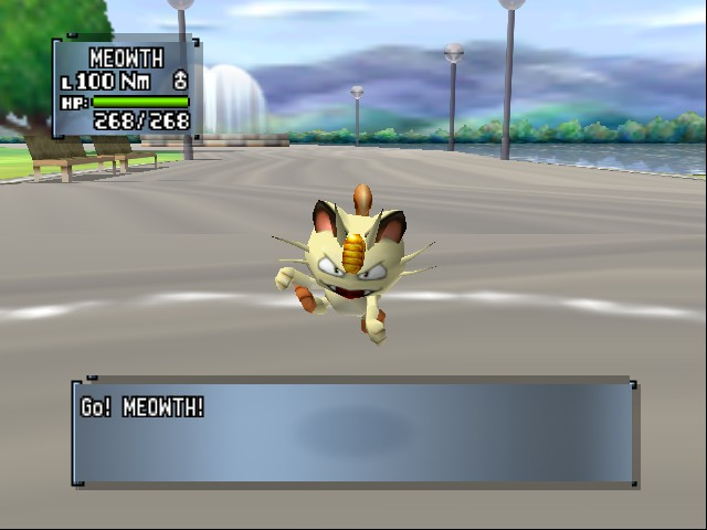 Pokemon Stadium 2 - Misc  - Meowth - User Screenshot
