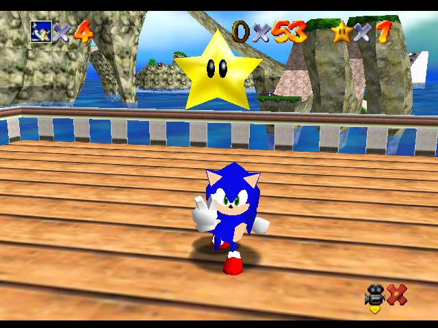 Sonic Drfit Nintendo 64 Box Art Cover by JoeyTheHedgehog