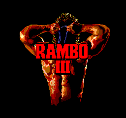 Rambo 3 - Introduction  - Title screen - User Screenshot