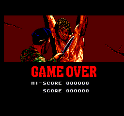 Rambo 3 - Gameover  - I don