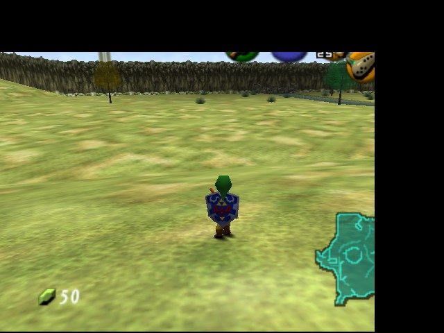 The Legend of Zelda - Ocarina of Time - Level  - i really need to change this shield - User Screenshot