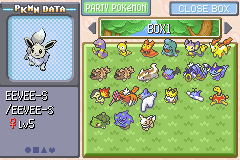 Pokemon Victory Fire (beta 1.75) - Shiny? - User Screenshot