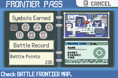Pokemon Emerald - Character Profile  - One more symbol left to complete the silver s - User Screenshot