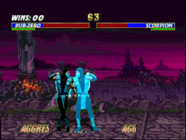 Mortal Kombat Trilogy - Which ones the real Sub-Zero?! - User Screenshot