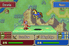 Fire Emblem - Tactics Universe - Battle  - horse attack - User Screenshot