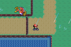 Pokemon Ash Gray (beta 2.5z) - o hello colorful fearow - User Screenshot