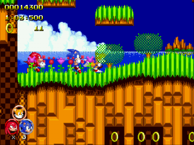 Sonic 2 Heroes - kick it - User Screenshot