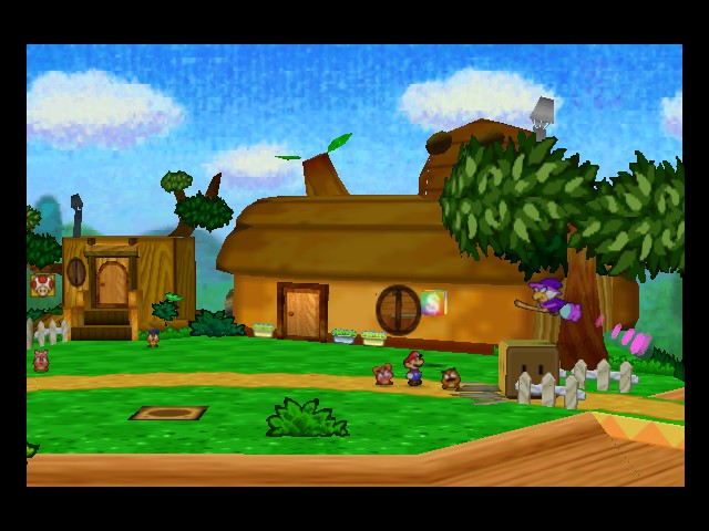 Paper Mario - Cut-Scene  - What Gift is THAT  - User Screenshot