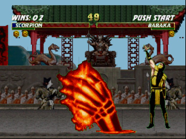 Mortal Kombat Trilogy - GET DOWN THERE  - User Screenshot