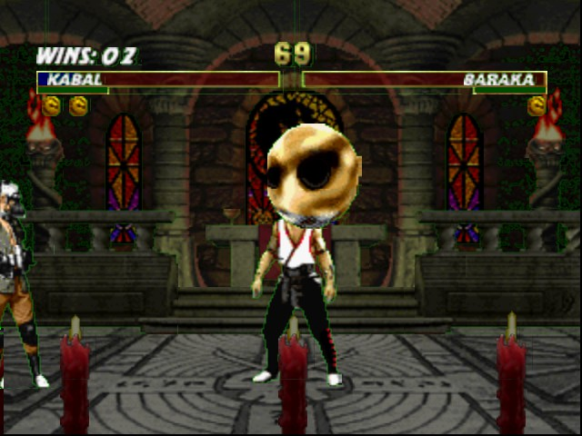 Mortal Kombat Trilogy - air head  - User Screenshot