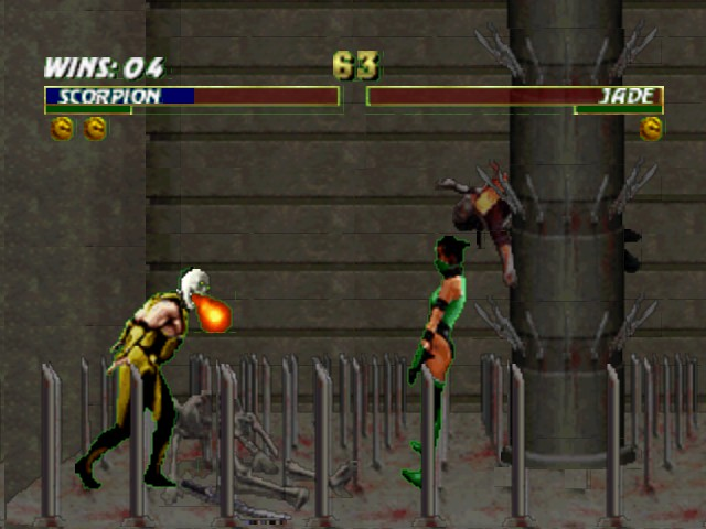 Mortal Kombat Trilogy - burn  - User Screenshot