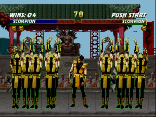Mortal Kombat Trilogy - OK boys GET HIM - User Screenshot