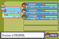 Pokemon Flora Sky - Complement Dex Version - Character Profile  - My team so far. C: - User Screenshot