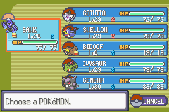 Pokemon Flora Sky - Complement Dex Version - Character Profile  - My team before the dreaded 4th gym. - User Screenshot