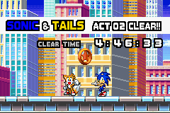 Sonic Advance 3 - Misc Level Clear - Meh.....Not bad..... - User Screenshot