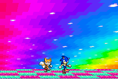Sonic Advance 3 - Cut-Scene  - Sonic and Tails:NYAN NYAN NYAN NYAN NYAN! - User Screenshot