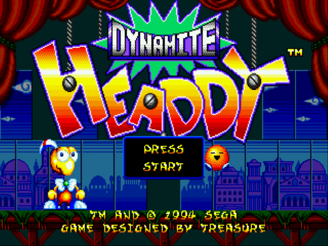 Dynamite Headdy - Mini-Game  - 1 - User Screenshot