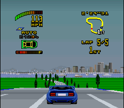 Top Gear 2 - Level Auckland - In the lead - User Screenshot