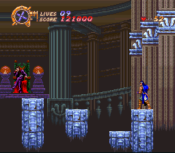 Castlevania - Dracula X - Get off your ass so I can kick it boy! - User Screenshot