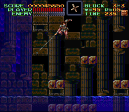 Super Castlevania IV - Victory Pose! - User Screenshot