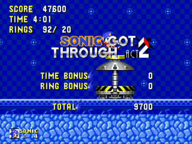 Sonic 2 Delta II - I got pass Winter hill zone - User Screenshot