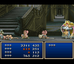 Tales of Phantasia (english translation) - Battle  - This is the first battle you see - User Screenshot