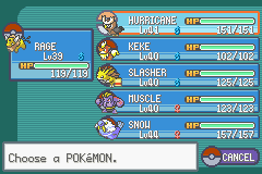 Pokemon Shiny Gold - Level  - After 8th gym badge - User Screenshot