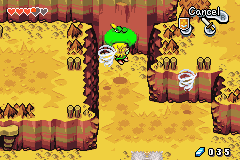 Legend of Zelda, The - The Minish Cap - Location Mt. Crenel - Hats can be used as sailclothes too! - User Screenshot