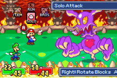 Mario & Luigi - Superstar Saga - Battle - am at the last battle this