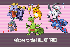 Pokemon Sapphire - Gameover  - who want some!! - User Screenshot