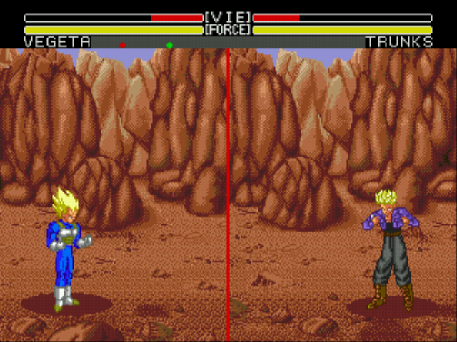 Dragon Ball Z (English) - Invincible Vegeta! - User Screenshot