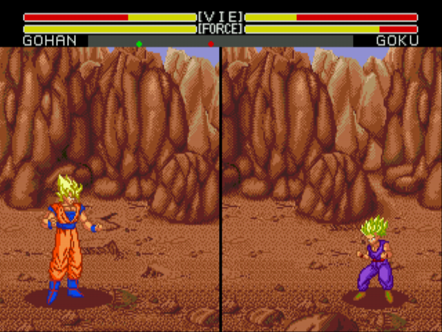 Dragon Ball Z (English) - Beating Up Daddy - User Screenshot