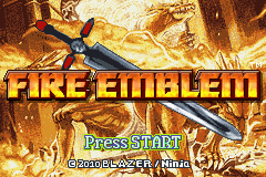Fire Emblem - Sacred Contention - Menus Title Screen -  - User Screenshot