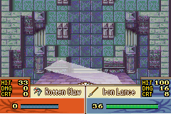 Fire Emblem - The Sacred Stones - Level  - The sky is falling!! - User Screenshot