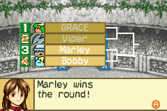 Monster Rancher Advance 2 - Cut-Scene  - Bob and Marley? lol - User Screenshot