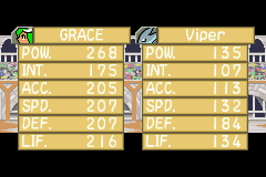 Monster Rancher Advance 2 - Battle  - Viper = awesome name - User Screenshot
