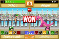 Monster Rancher Advance 2 - Battle  - R U KIDDING ME?!?! HE STILL HAD 1 HP?!?!?! - User Screenshot