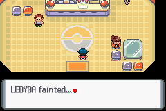 Pokemon Platinum - Location Pokemon Center - DANG IT!! AGAIN?!?! - User Screenshot