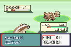 Pokemon Ruby - Battle  - Does any1 else think this is kinda messed up? - User Screenshot