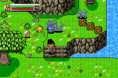 Dragon Ball Z - The Legacy of Goku - i got alot of dogs - User Screenshot