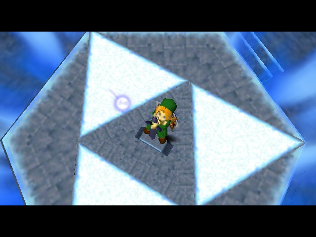 The Legend of Zelda - Ocarina of Time - Cut-Scene  -  - User Screenshot