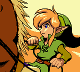 Zelda - Oracle of Ages - Introduction  - He looks so cool! - User Screenshot