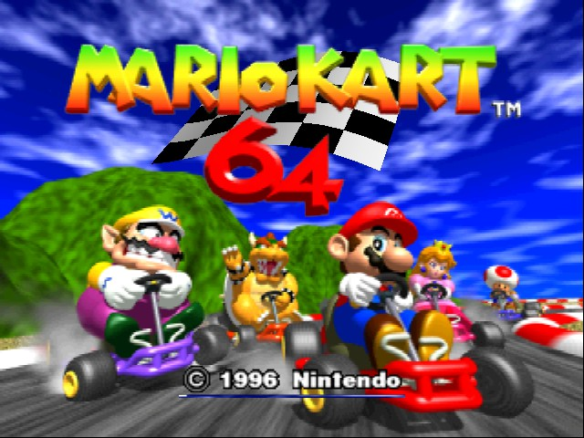 Mario Kart 64 - Menus Title -  - User Screenshot